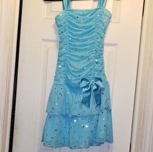 Blue Party Girl Dress